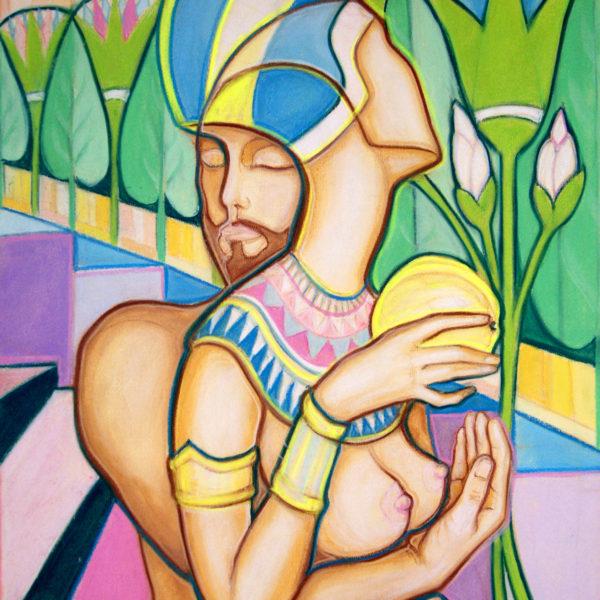 Нефертити с яблоком Адама