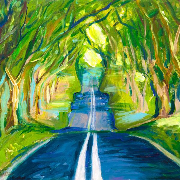 Свой идеальный образ. Зеленые деревья