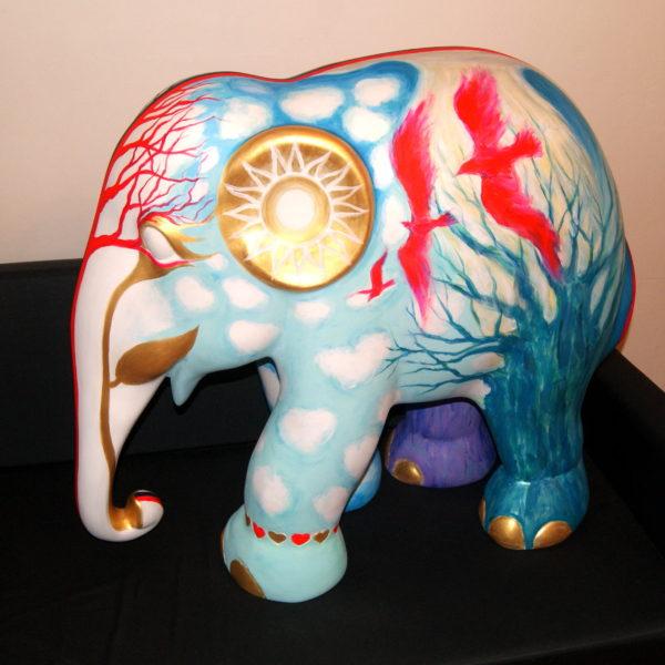 Роспись слона